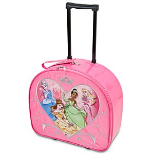Rolling Sweetheart Disney Princess Luggage