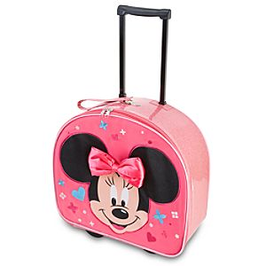 Rolling Minnie Mouse Luggage