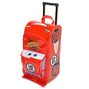 Rolling Lightning McQueen Luggage