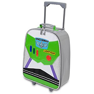 Rolling Light-Up Buzz Lightyear Luggage