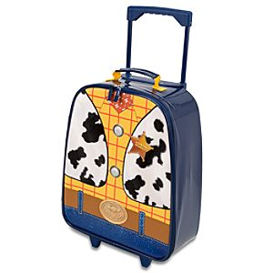 Rolling Light-Up Sheriff Woody Luggage