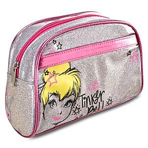 Glitter Tinker Bell Cosmetics Bag