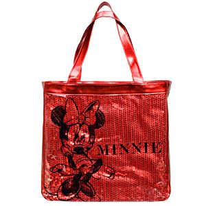 Sequin Minnie Mouse Tote