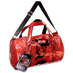 Sequin Minnie Mouse Duffle Bag