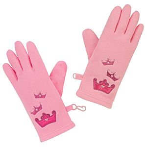 Fleece Disney Princess Gloves