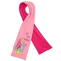 Fleece Disney Princess Scarf