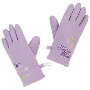 Fleece Tinker Bell Gloves