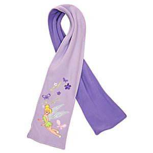Fleece Tinker Bell Scarf