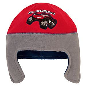Fleece Lightning McQueen Hat