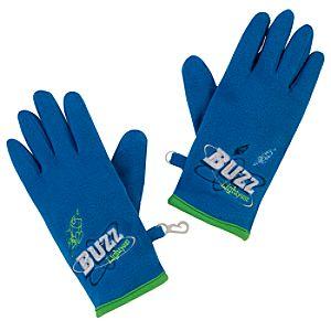 Fleece Buzz Lightyear Gloves
