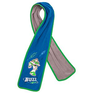 Fleece Buzz Lightyear Scarf
