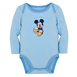 Oh Boy Mickey Mouse Bodysuit