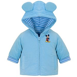 Hooded Mickey Mouse Jacket