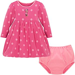 Bubble-Hem Minnie Mouse Dress