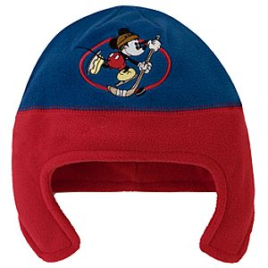 Fleece Mickey Mouse Hat