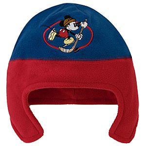 Fleece Mickey Mouse Hat
