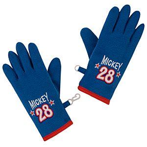 Fleece Mickey Mouse Gloves