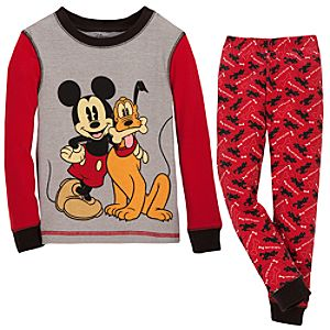 Mickey Mouse and Pluto PJ Pal