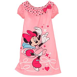 Skating Minnie Mouse Nightshirt