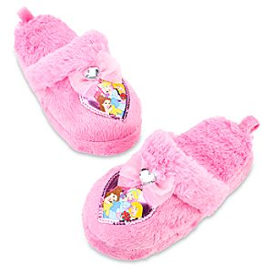 Plush Disney Princess Slippers