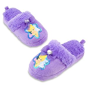 Plush Tinker Bell Slippers
