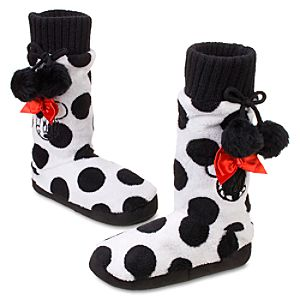 Minnie Mouse Slipper Booties