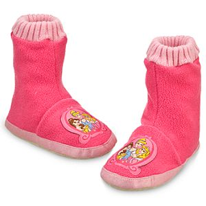 Disney Princess Slipper Booties for Girls