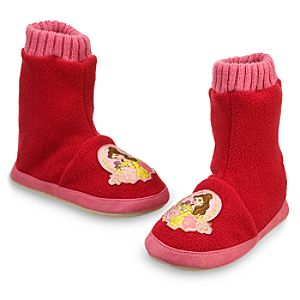 Belle Slipper Booties for Girls