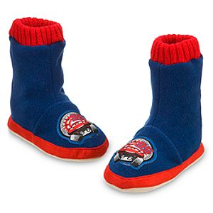 Cars Slipper Booties for Boys