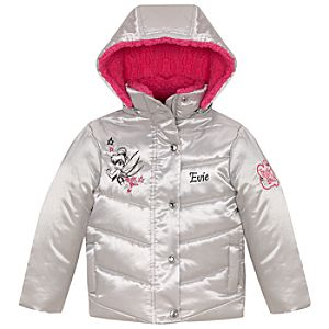 Personalized Tinker Bell Puffy Jacket