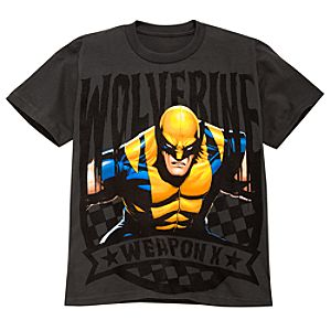 Weapon X Wolverine Tee for Boys