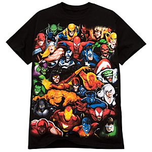 Marvel Superhero Tee for Men