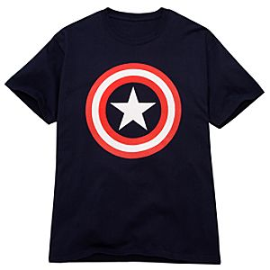 Shield Captain America Tee for Men