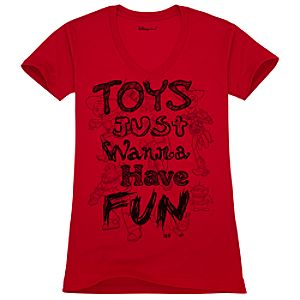 Organic Toys Just Wanna Have Fun Toy Story Tee for Women
