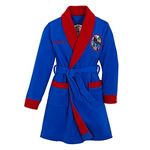 Personalizable Spider-Man Robe for Boys
