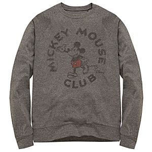 Slim Fit Long-Sleeve Mickey Mouse Club Tee by Junk Food for Men