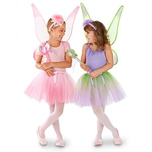 Disney Fairies Costumes -- Set of 2