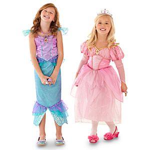 Ariel Costumes -- Set of 2