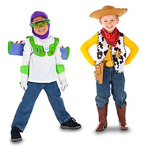 Toy Story Buzz and Woody Costumes -- Set of 2