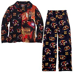 Iron Man 2 Pajamas for Boys