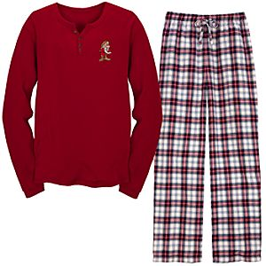 Thermal and Flannel Grumpy Pajamas