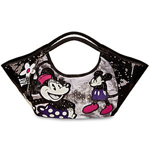 Minnie and Mickey Mouse Wing Tote Bag by Disney Couture