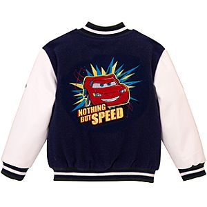 Personalized Lightning McQueen Varsity Jacket