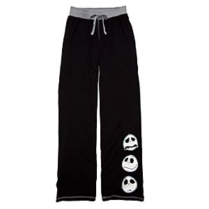 Black Jack Skellington Pajama Bottoms