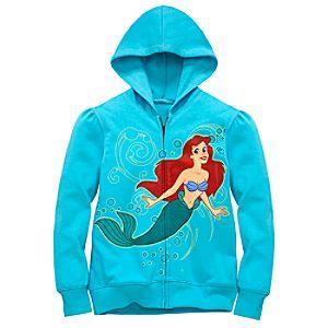 Hoodie Ariel Sweatshirt Jacket