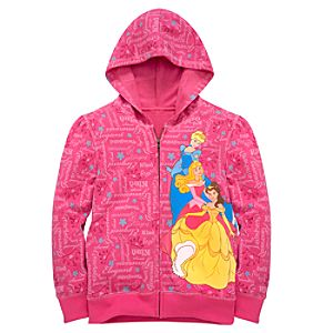 Hoodie Disney Princess Sweatshirt Jacket