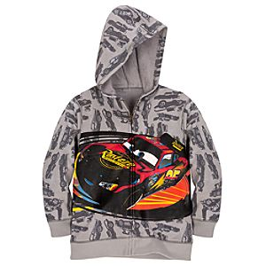 Hoodie Disney Cars Sweatshirt Jacket