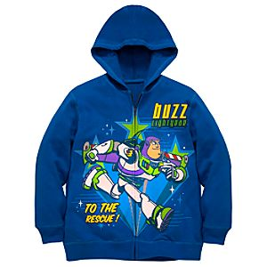 Hoodie Buzz Lightyear Sweatshirt Jacket