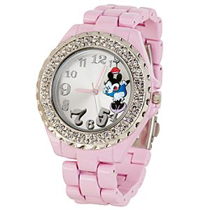 Pink Minnie Mouse Watch for Women
