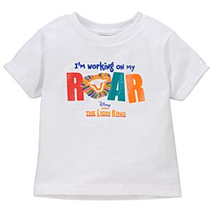 ''I'm Working on My Roar'' The Lion King: The Broadway Musical Tee for Kids